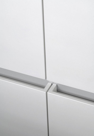 Drawer pull detail by architect Pitsou Kedem.