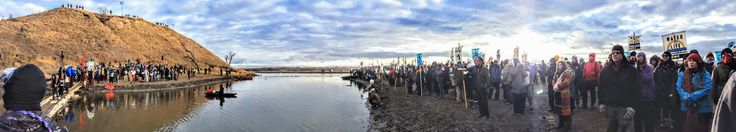 Thanksgiving at Standing Rock, site of the Dakota Access pipeline protest. American should hang their heads in shame that our government is again persecuting the very people who really own the land.