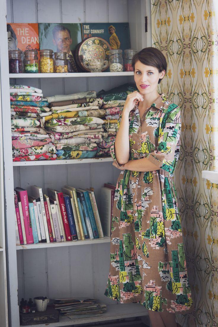Bea dress in Brooklyn LAZYBONES.COM.AU