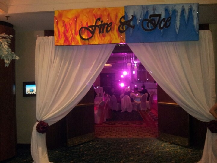 Discover Ideas About School Dance Decorations April 2019 Fantastic Fire And Ice