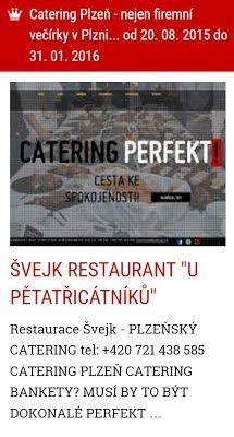catering Plzeň firemní večírky