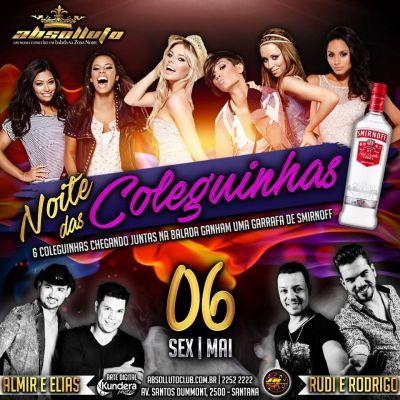 Sextaneja Double no Absolluto Club com Rudi & Rodrigo e Almir & Elias Com nome na lista: Mulher Vip, Homem 20 até 0h - http://www.baladassp.com.br/balada-sp-evento/Absolluto-Club/171