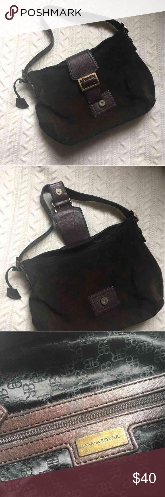 Banana Republic HandBag Gently used (: #brandname #brown #bag Banana Republic Bags Shoulder Bags
