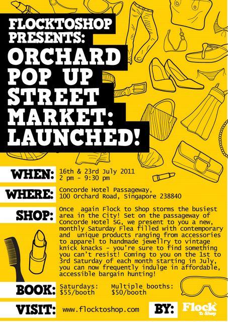 Flea Market Poster ( Organizer) on Behance