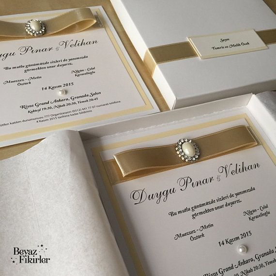 Luxury Wedding Invitation Lux Wedding by WhiteInvitations on Etsy