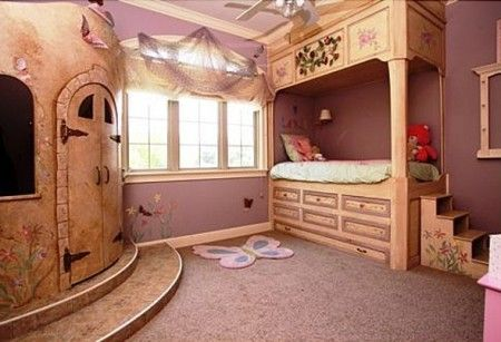 65 best images about wall murals on pinterest jungle for Castle kids room
