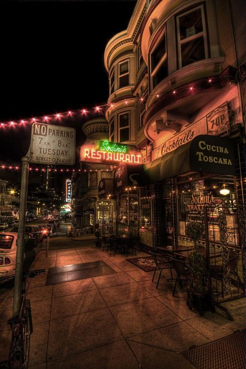 Little Italy, San Francisco, CA. by mgkepp
