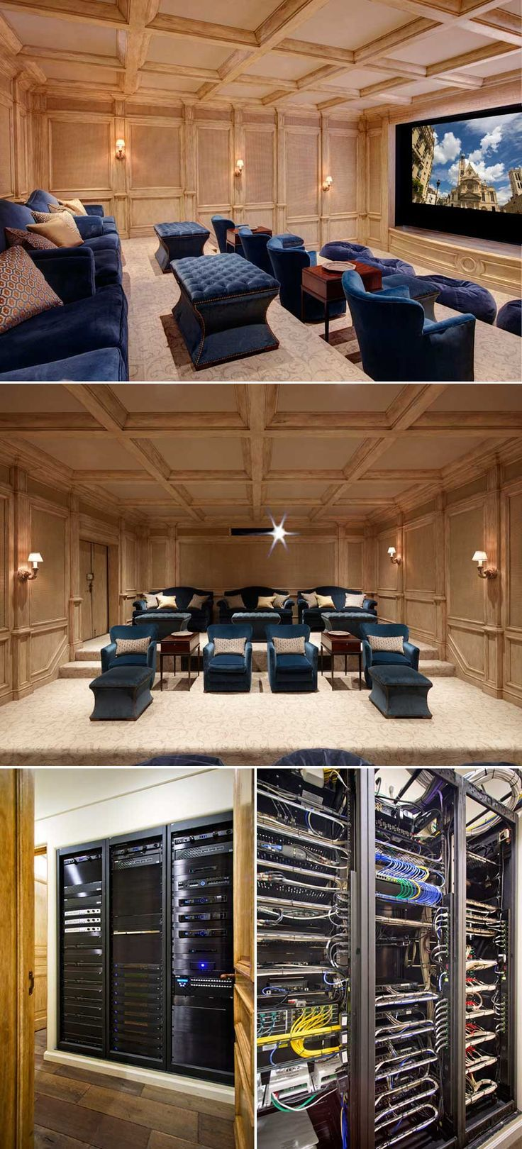 39 best Home Theaters images on Pinterest | Home movie theaters ...