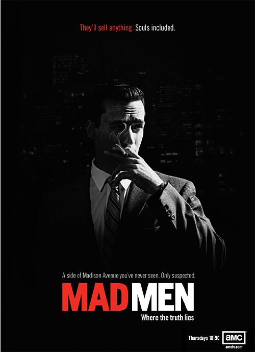 "Mad Men is set in the 1960s, initially at the fictional Sterling Cooper advertising agency on Madison Avenue in New York City, and later at the newly created firm Sterling Cooper Draper Pryce. According to the show's pilot, the phrase ""Mad Men"" was a slang term coined in the 1950s by advertisers working on Madison Avenue to refer to themselves."