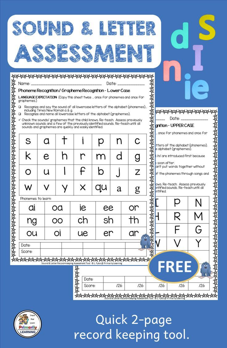 Letters and Sounds Assessment complements Jolly Phonics FREE