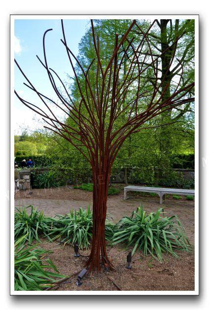 Rebar tree - like the trunk