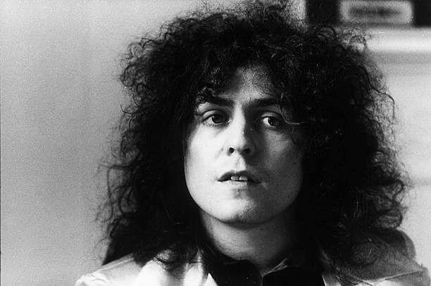 #KALMIYH  Marc pictured on April 19th 1972. (Photos by Michael Putland)