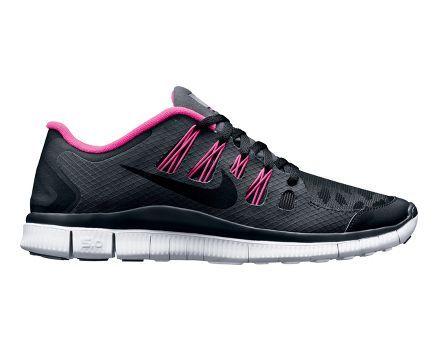Femmes Nike Free 5.0 Chaussures De Course Bouclier Fond Noir / Rose 2015 à vendre YdyOj