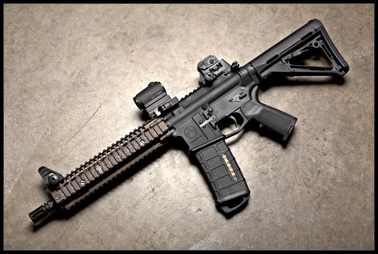 Magpul MK18 W/Aimpoint T1 + Magpul Stock + Magpul Pistol