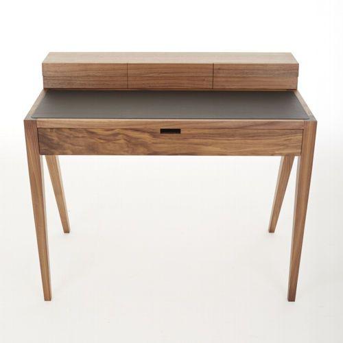 Contemporary dressing table / oak / leather / walnut KINGSTON Dare Studio