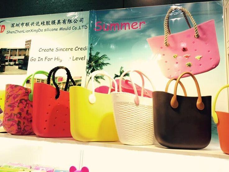 Many designs Obag http://www.chinasiliconebag.com/product/eva-mini-o-bag.html
