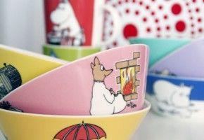 Scandinavian Design for Kids: Moomin Mugs