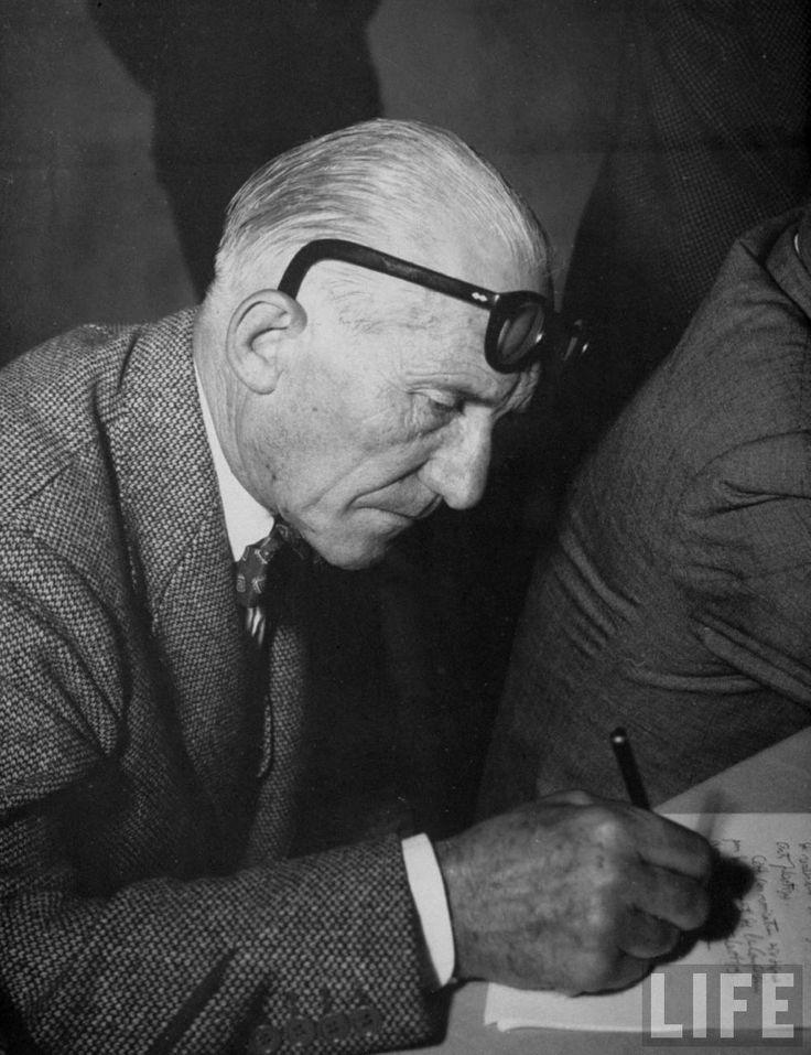 Le Corbusier - Glasses by Maison Bonnet www.maisonbonnet.com