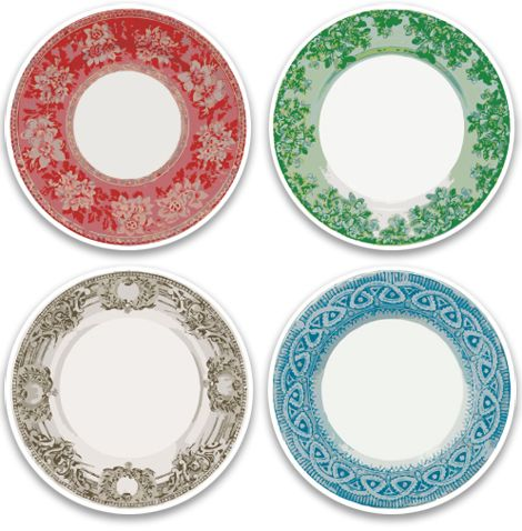 Cathe Holden Plates labels