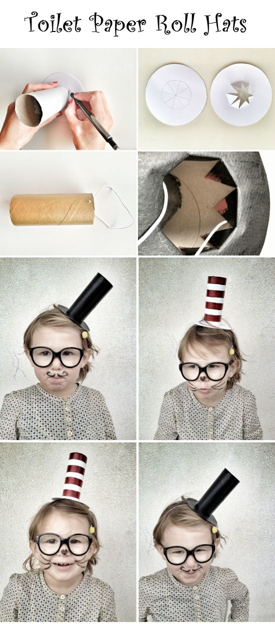 Toilet Paper Roll Hats | Crafts and DIY Community