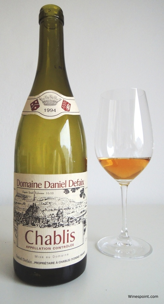 Daniel #Defaix #Chablis 1994 brought to you by #Winespoint.com