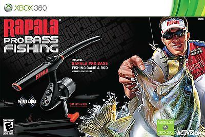 Rapala Pro Bass Fishing with Rod Peripheral -Xbox 360 [Xbox 360]