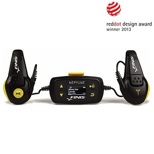 A waterproof MP3 player from Finis, Perfect for swimming!