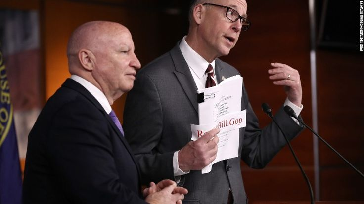 GOP health plan already in trouble Conservative GOP : not far enough 3/8/17