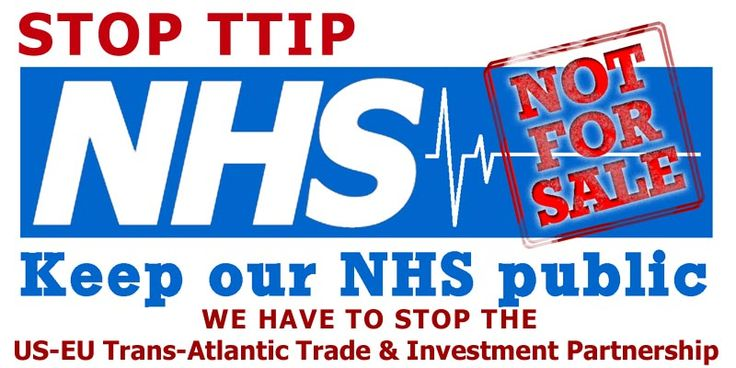 Green Party opposes TTIP in the NHS for the common good
