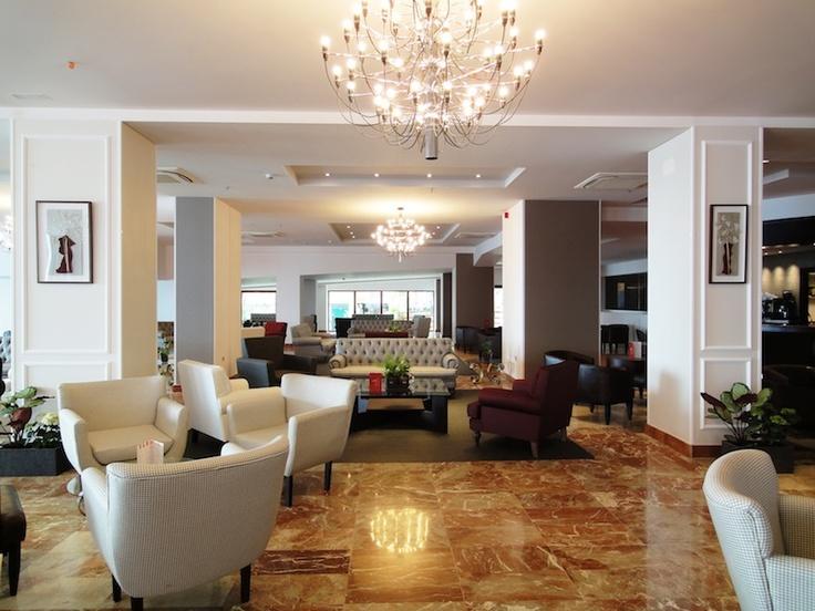 Salón - Lounge.  Hotel Angela. Fuengirola, Costa del Sol. SPAIN