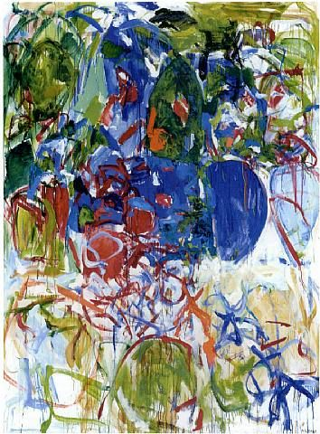 Joan Mitchell (1926-1992) was one of the major artists of the Abstract Expressionist movement. She won a place for herself in the New York art world of the 1950s and achieved recognition for her grand yet personal style of painting. That she is not more widely appreciated in the United States is partly because she lived in France during the later decades of her life