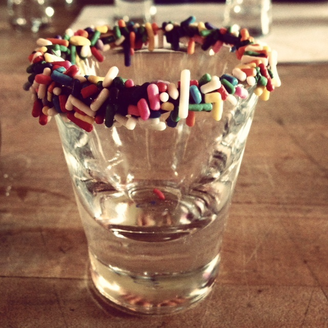 Rim Your Pinnacle 174 Shots With Sprinkles Garnishes Galore