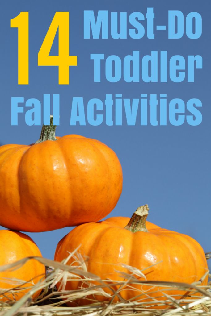 14 must-do toddler fall activities for your family bucket list.