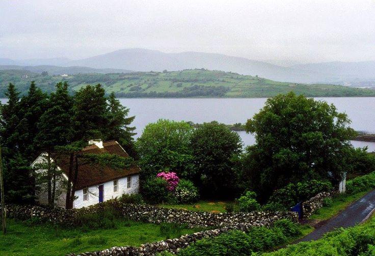 Lough Corrib, Galway, Ireland Lough Corrib is a lake in the west of Ireland. The River Corrib or Galway river connects the lake to the sea at Galway. It is the second largest lough in the island of Ireland. Wikipedia