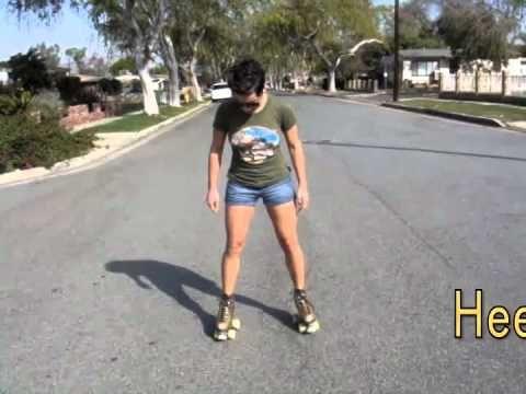▶ Backwards Skating Basics (lesson 2) we RollerSkate - YouTube