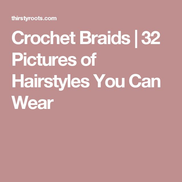 Crochet Hair You Can Swim In : 1000+ images about hair types for crochet braids on Pinterest ...