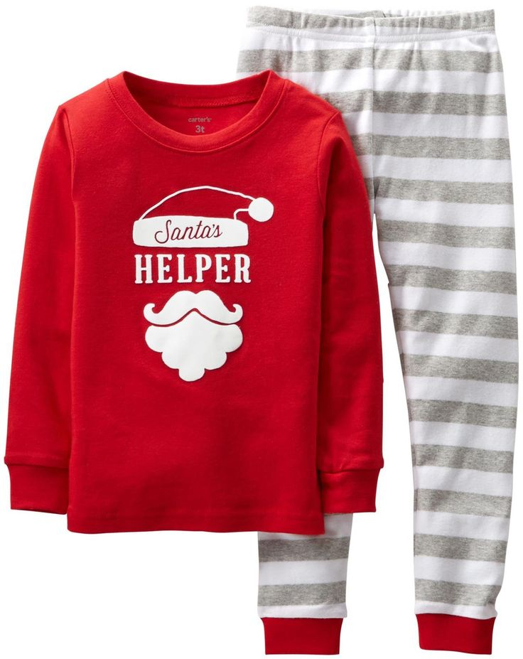 Carter's 2 Piece Holiday PJ Set for babies | Baby's First ...