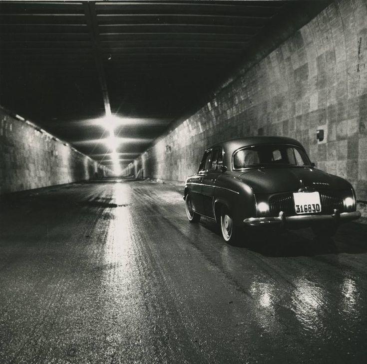 Cincuenta años del túnel de Guadarrama en Madrid