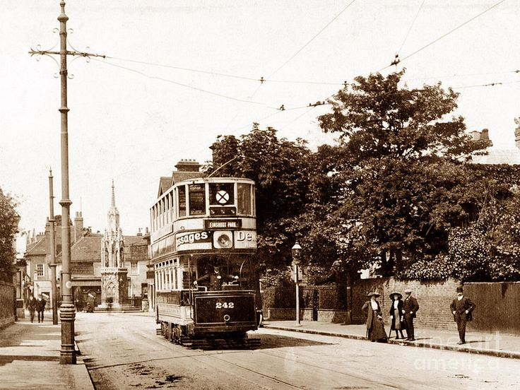 waltham cross tram