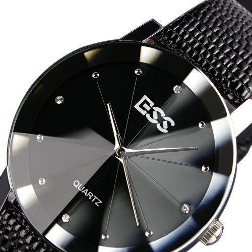 ESS Herrenuhr - schwarz Armband Uhr - Geschenk - http://geschirrkaufen.online/ess-8/ess-herrenuhr-schwarz-armband-uhr-geschenk