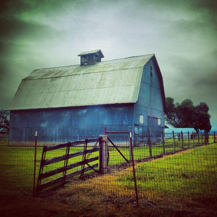 A barn in Oklahoma.