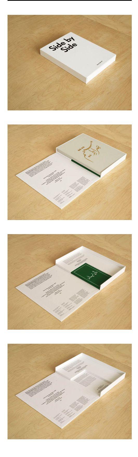 Binding, portfolio Side by Side, Raking Leaves 優秀的書盒設計