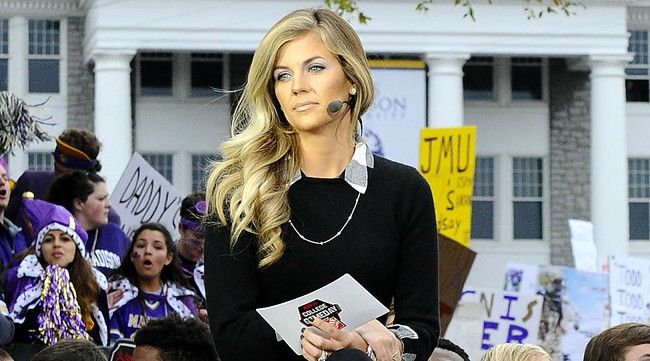 Samantha Ponder Q&A: On The Best 'GameDay' Locations, And Family Life