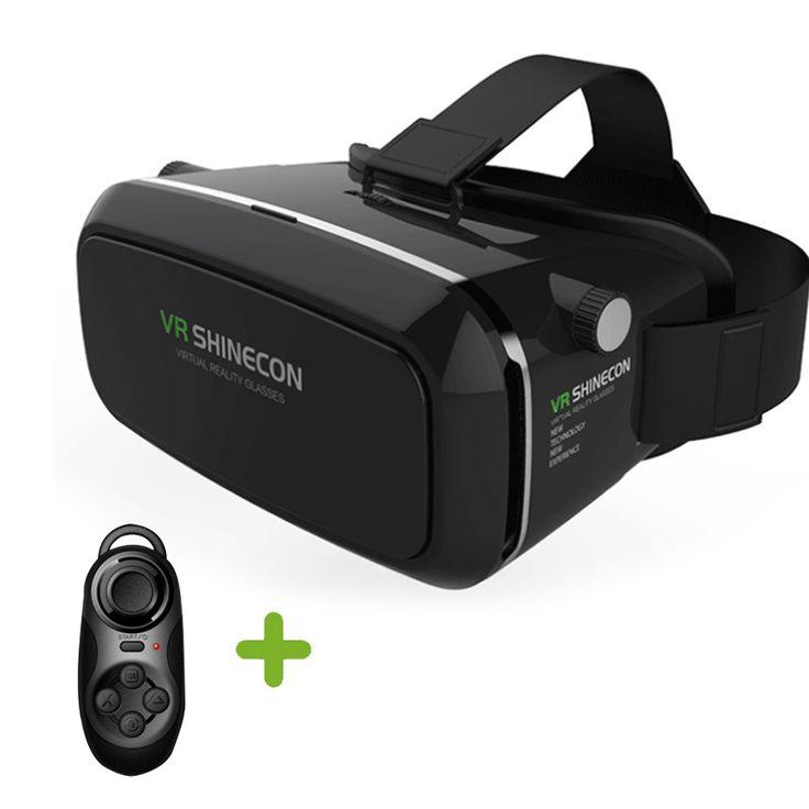 Shinecon VR Virtual Reality 3D Glasses Helmet Google Cardboard