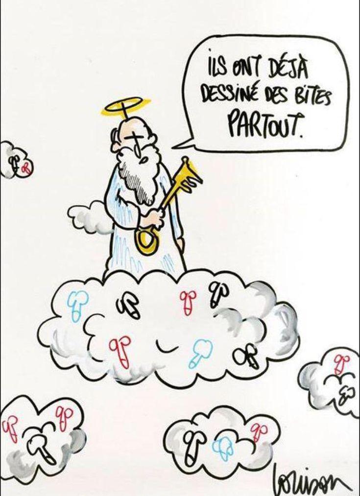 Juste parfait, ce dessin de @Louison_A @Charlie_Hebdo_
