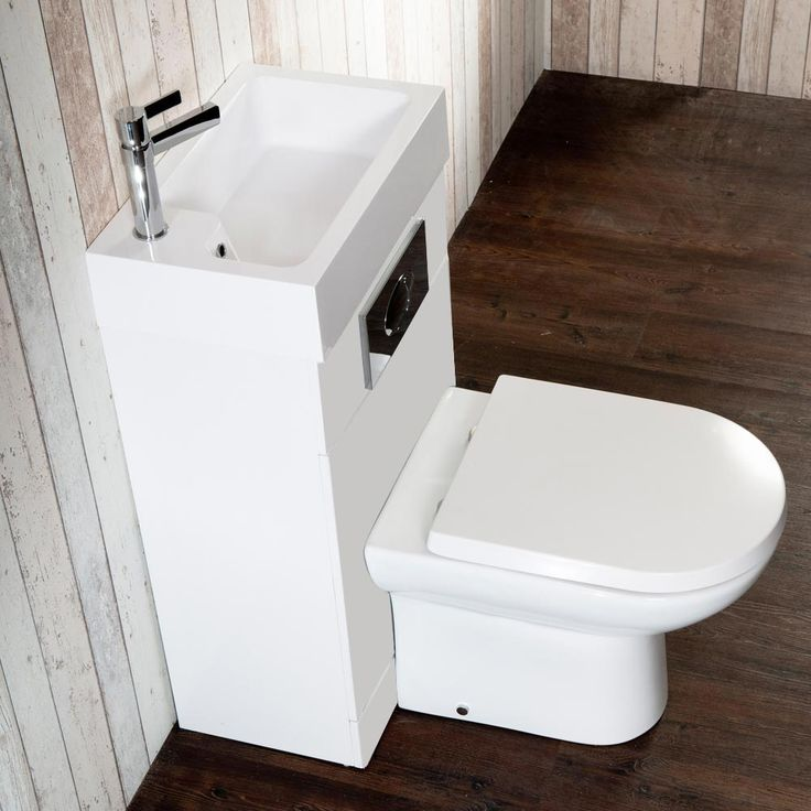 Metro Combined Two In One Wash Basin U0026 Toilet (500mm Wide X 300mm
