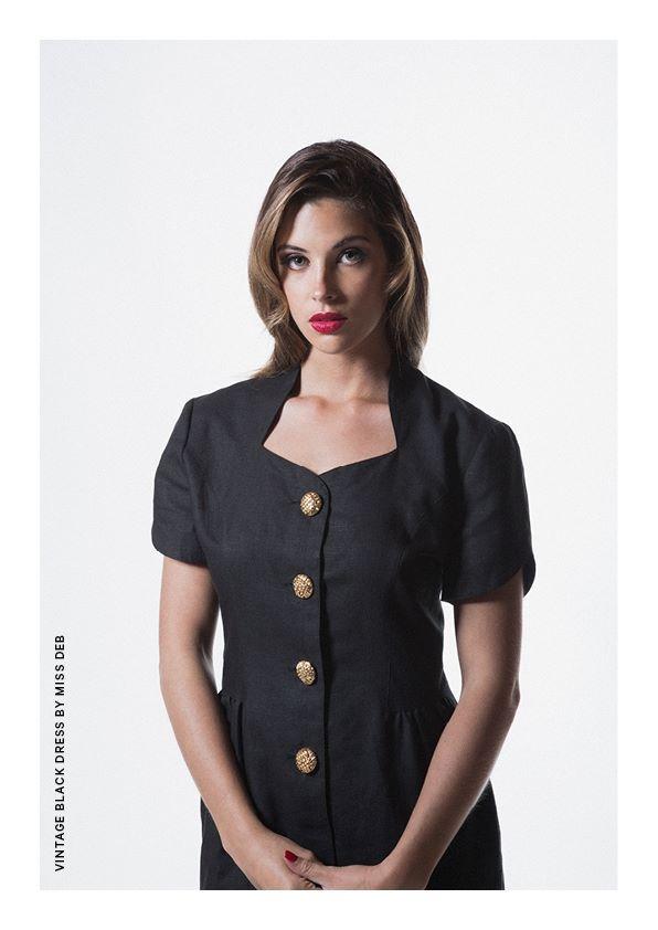 Vintage Black dress by Miss Deb