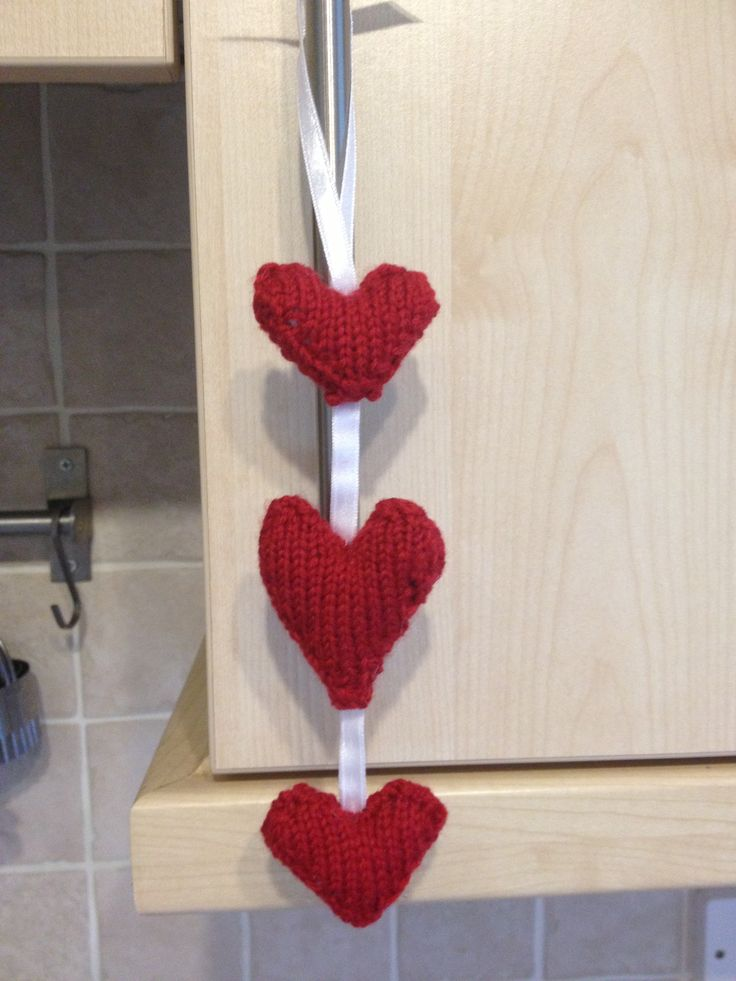 Home made heart decoration I made this weekend