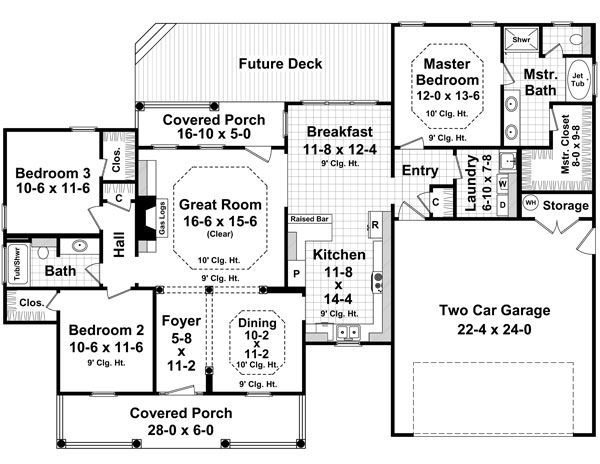 60 best House Plans images on Pinterest