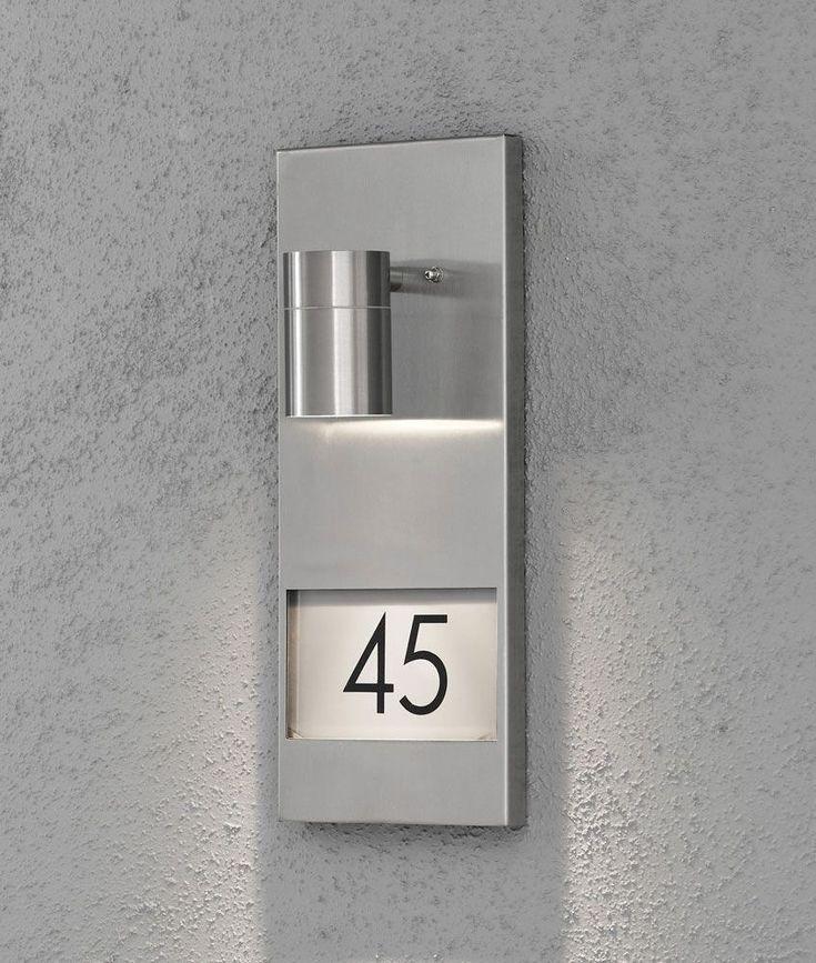 hausnummer mit beleuchtung schönsten bild und acddaaaaccfdf house number plaques house numbers